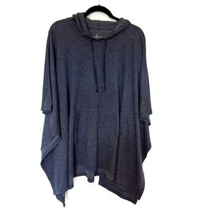 Poncho CUDDL DUDS Blue Size S/M Comfort Wear